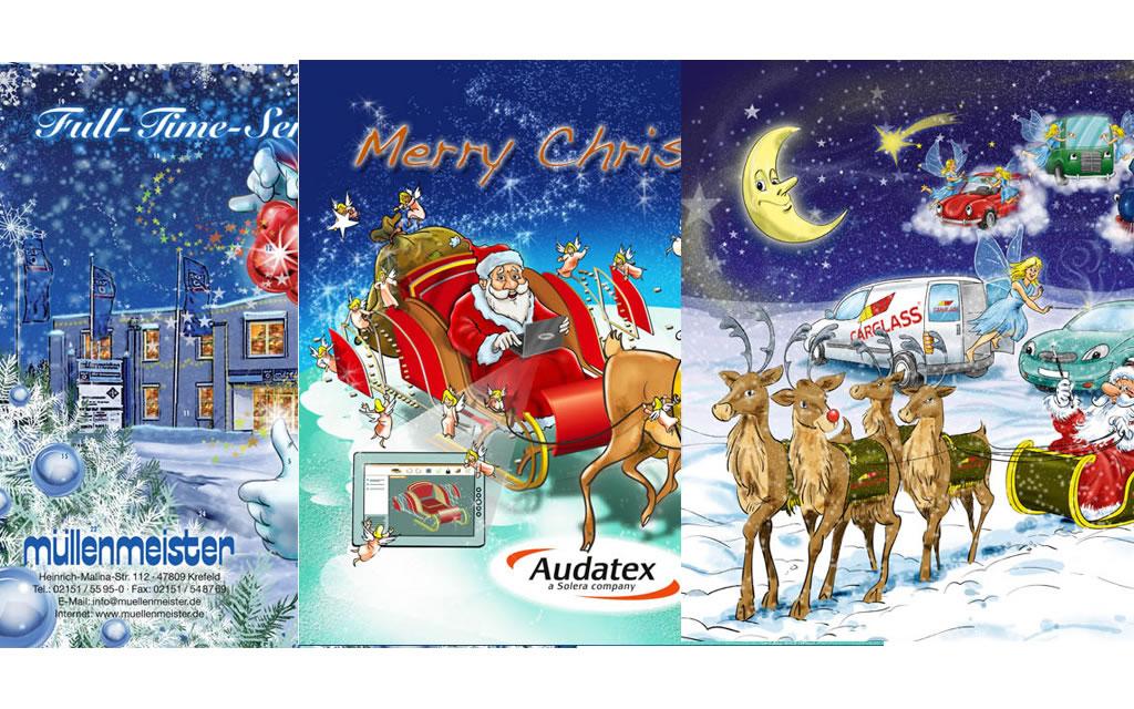 Produktionsbeispiel: Weihnachtskalender